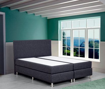 Boxspring Flanny antraciet, merk Olympic Life 2