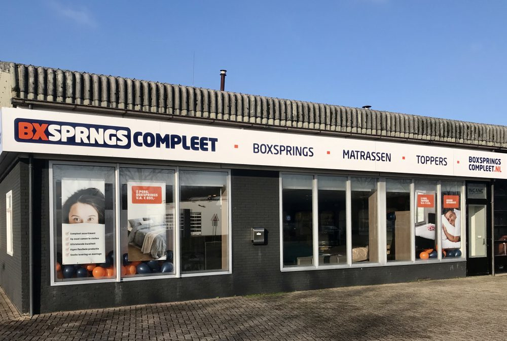 Showroom Boxsprings Compleet | Middelharnis