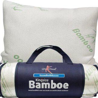Bamboe kussen traagschuim Lucovitaal